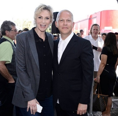 Jane Lynch, Ryan Murphy