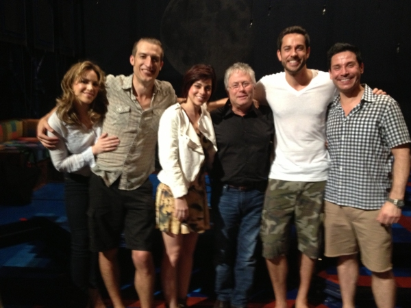 Photo Exclusive: Alan Menken Reunites with Zachary Levi at FIRST DATE!