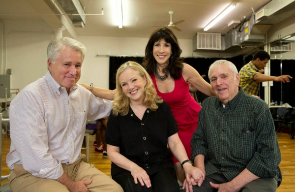 David Thompson (book), Susan Stroman (direction/choreography), Catherine Schreiber (co-producer) and John Kander (music).