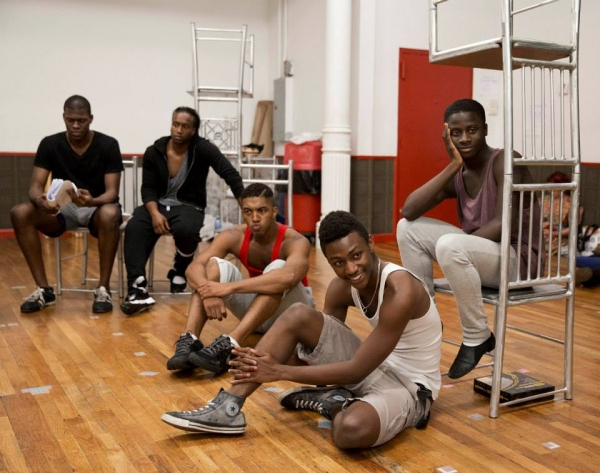 Kyle Scatliffe (Haywood Patterson), Rohan Pinnock-Hamilton (Olen Montgomery), Christian Dante-White (Charles Weems), Carl Spencer (Andy Wright) and Idriss Kargbo