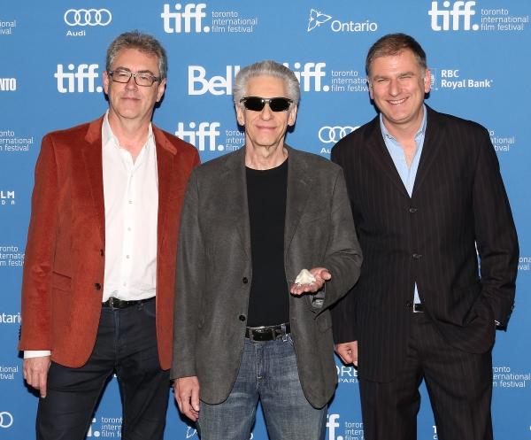 Piers Handling, David Cronenberg and Noah Cowan