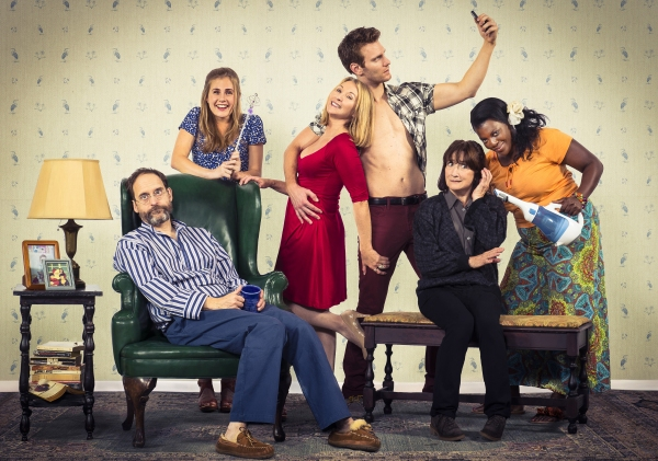 Anthony Fusco (Vanya), Caroline Kaplan (Nina), Lorri Holt (Masha), Mark Junek (Spike), Sharon Lockwood (Sonia), and Heather Alicia Simms (Cassandra)