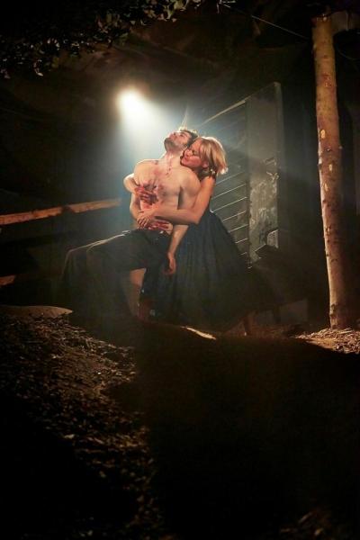 Sophie Bortolussi and Fionn Cox-Davies Photo