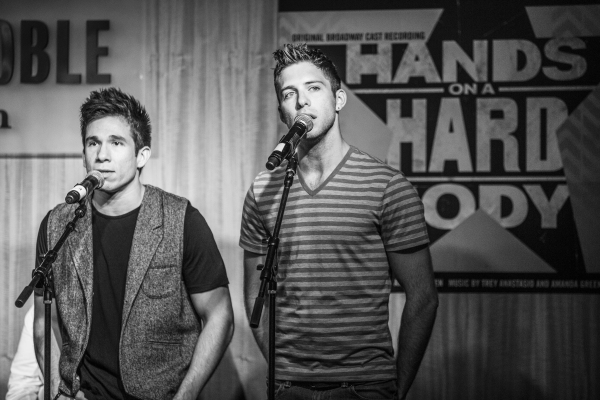 Photo Coverage: HANDS ON A HARDBODY Cast Celebrates Album Release at Barnes & Noble!