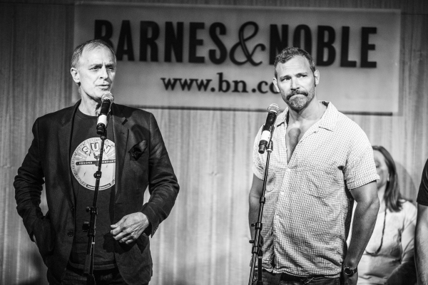 Keith Carradine and Jim Newman