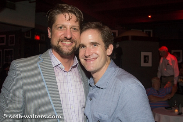 Christopher Sieber, Kevin Burrows Photo
