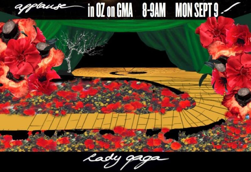 Lady Gaga Announces WIZARD OF OZ Theme For GMA 9/9