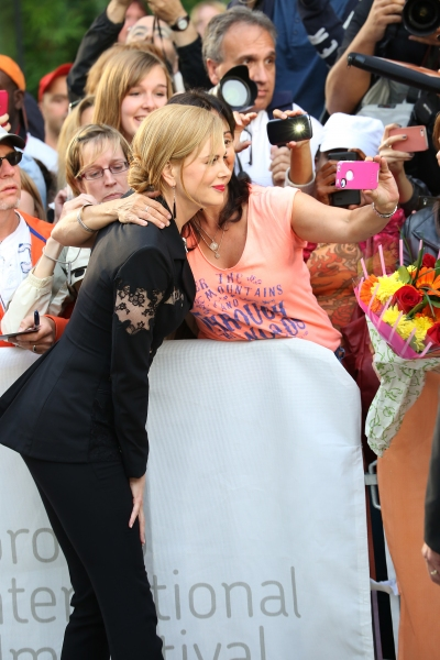 Nicole Kidman and fans