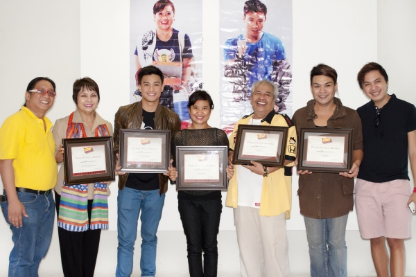 Maribel Legarda, Edgar Allan Guzman, Eugene Domingo, Soxie Topacio, Joey Paras Photo