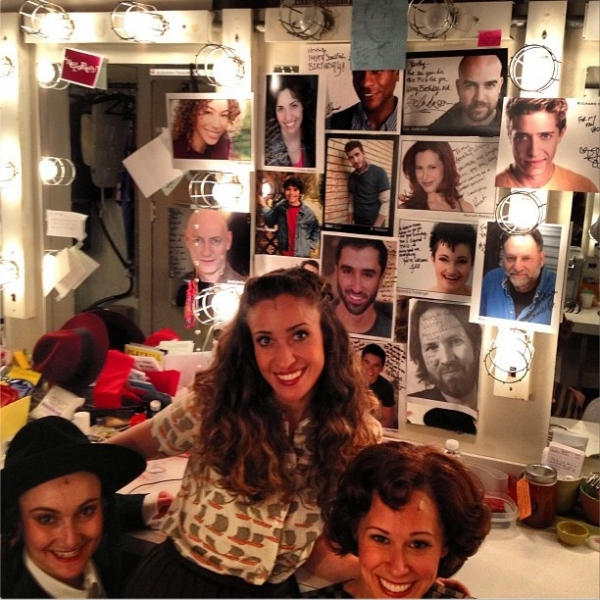 Photo Flash: Saturday Intermission Pics, Sept 7 - High-Fashion HAIRSPRAY in PA, a ROCK OF AGES Kick Line and More!