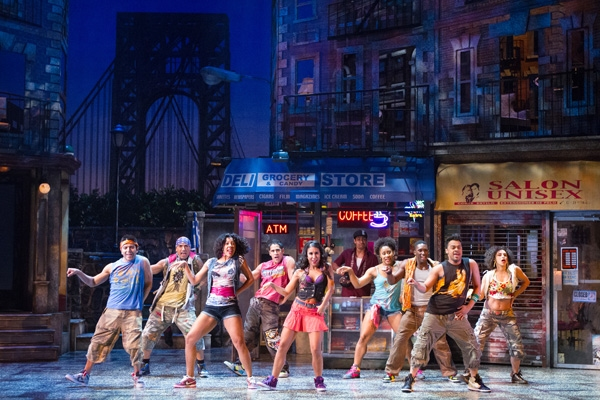 Photo Flash: First Look at Walnut Street Theatre's IN THE HEIGHTS