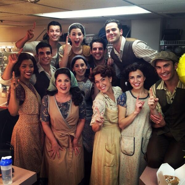 Photo Flash: Saturday Intermission Pics, September 7 - Part 2 - EVITA National Tour Posts First SIP; Plus MATILDA's Jill Paice, Laura Osnes & More!