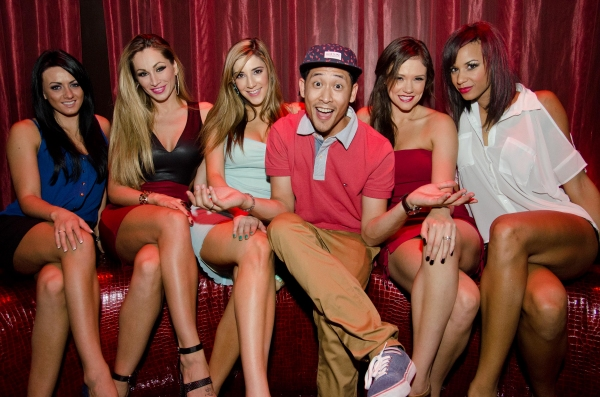 Photo Flash: Cast of FANTASY & Jaime Lynch Attend 'FANTASY Fridays' at LAX Nightclub, 9/6