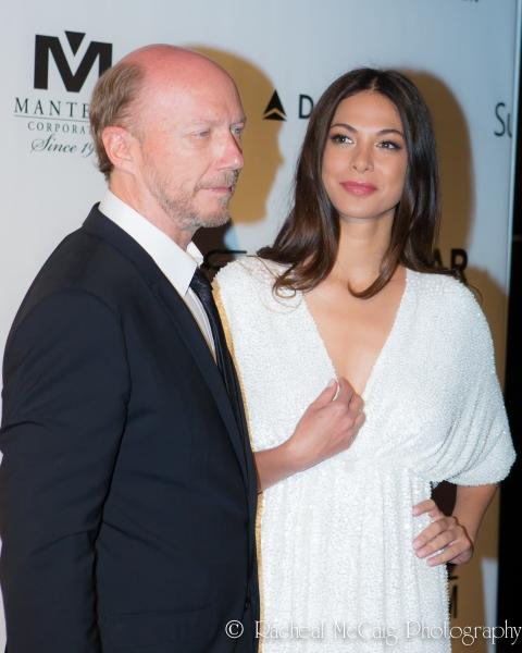 Paul Haggis and Moran Atias Photo