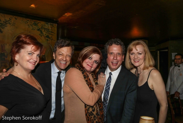 Jane Blass, Jim Caruso, Faith Prince, Billy Stritch, Mary Callahan Photo