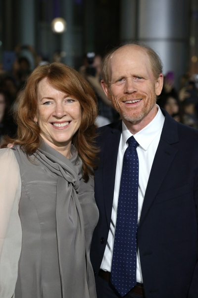 Cheryl Howard and Ron Howard