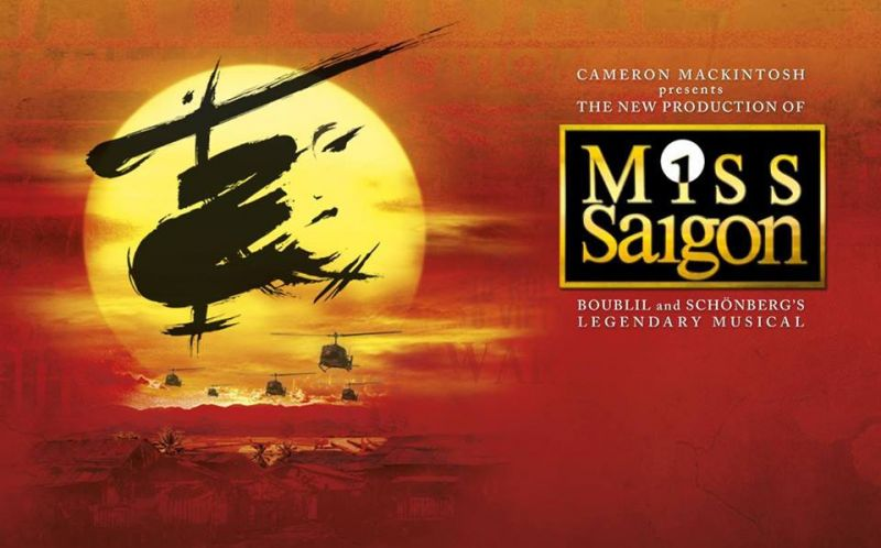 New Poster & Photos Of MISS SAIGON Ticket Sale Celebration