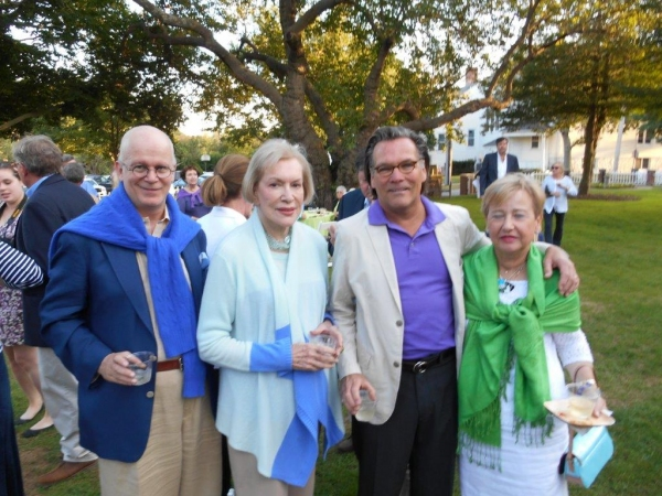 Photo Flash: Sculptor John Rist Jr. Brings 'Fabulous Fish' to Southampton Historical Museum Party