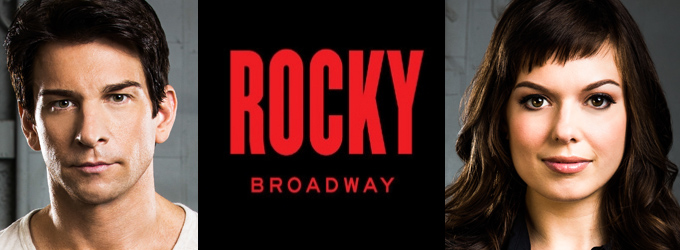 Breaking News: Andy Karl & Margo Seibert to Lead ROCKY on Broadway!