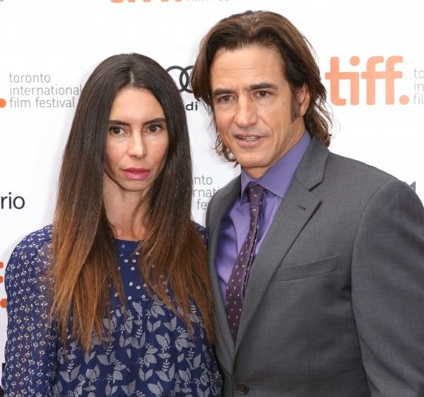 Tharita Cesaroni and Dermot Mulroney
