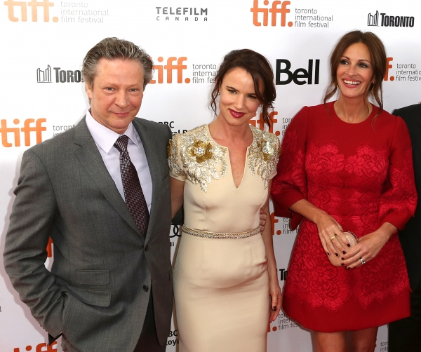 Chris Cooper, Juliette Lewis and  Julia Roberts