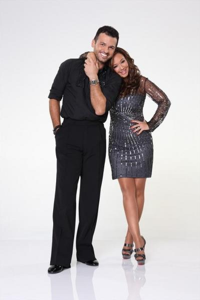 Leah Remini partners with Tony Dovolani