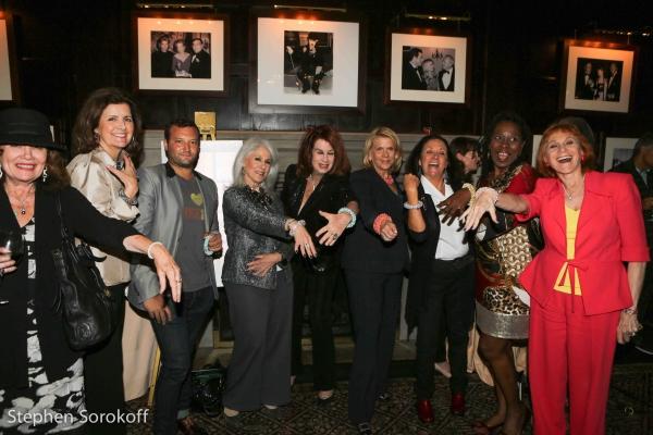 Judy Katz, Irene Narissi, Josh Beckerman, Jamie deRoy, Laura Slutsky, Francine LeFrak, Nancy Lombardo, Rhonda Handsome, Dr. Judy Kuriansky