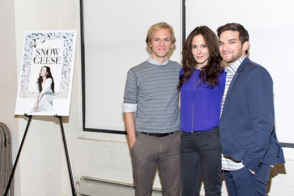 Brian Cross, Mary-Louise Parker, Evan Jonigkeit