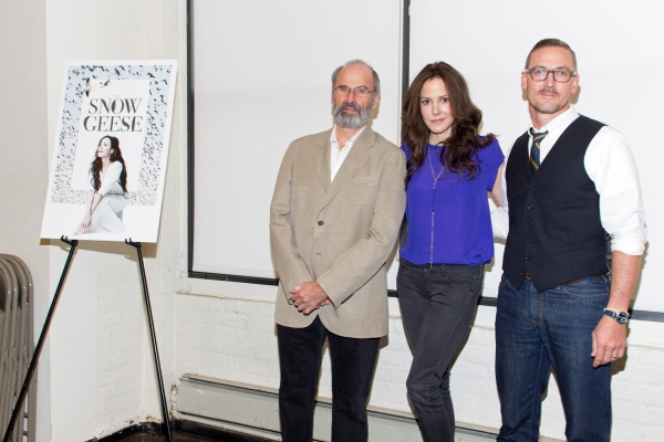 Photo Coverage: Mary-Louise Parker, Victoria Clark, Danny Burstein & The SNOW GEESE Cast Meet the Press!