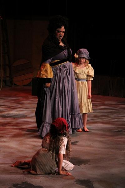 Rebecca Davis, Anna Ostrem, and Bailey Dare
