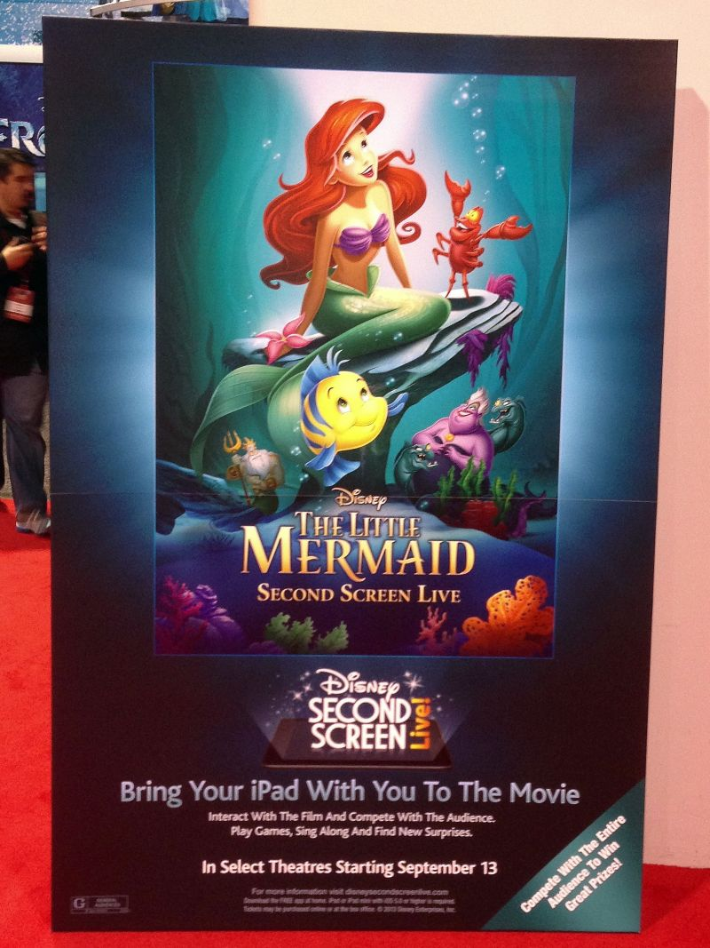 Disney Introduces THE LITTLE MERMAID Second Screen Live Feature