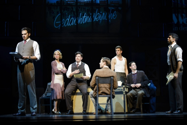 Photo Flash: First Look at Tony Yazbeck, Leigh Ann Larkin, Will Taylor & More in Alliance Theatre's HARMONY