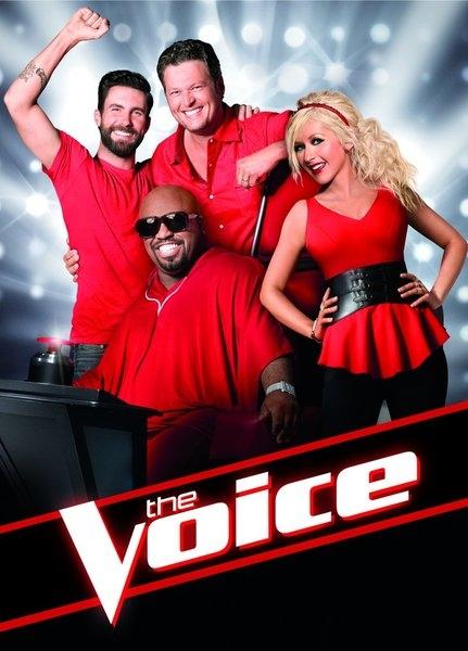 =Adam Levine, CeeLo Green, Blake Shelton, Christina Aguilera