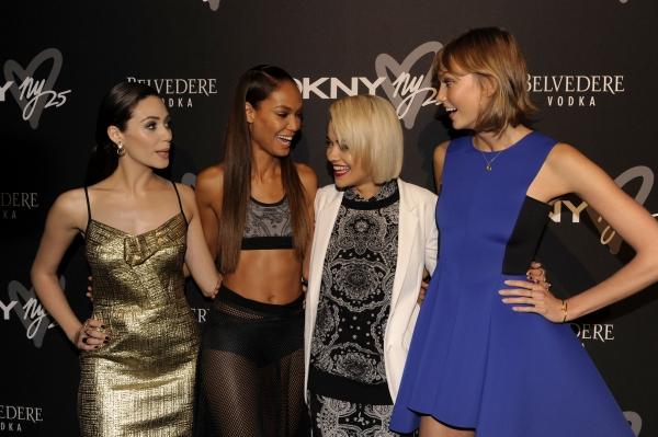 Emmy Rossum, Joan Smalls, Rita Ora, Karlie Kloss Photo