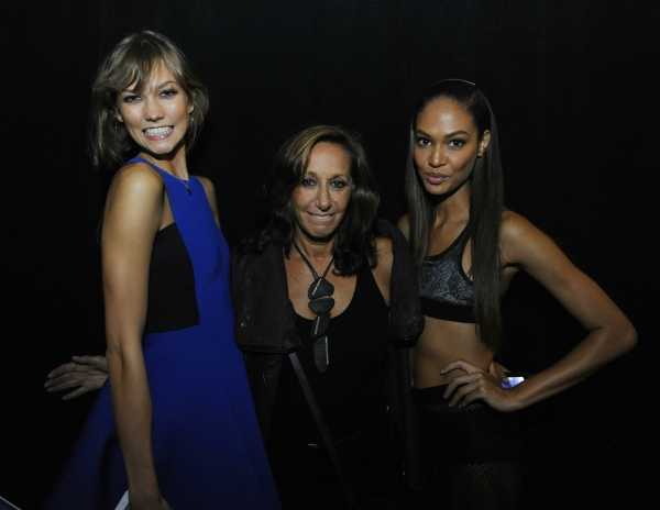 Karlie Kloss, Donna Karan, Joan Smalls