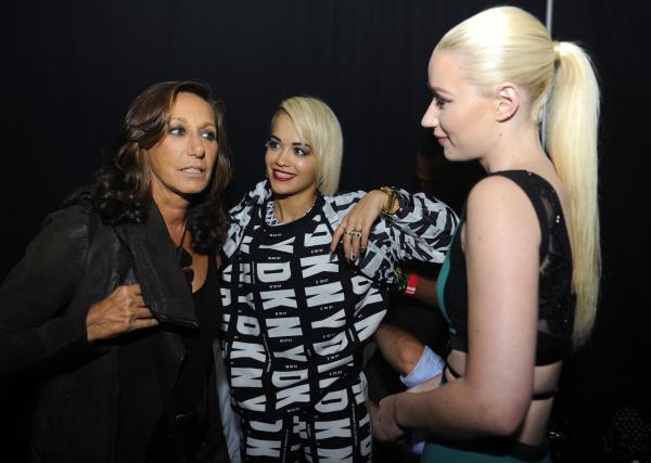 Donna Karan, Rita Ora, Iggy Azalea Photo