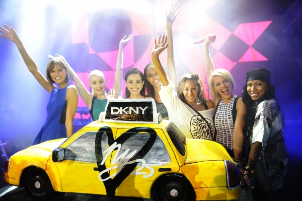Karlie Kloss, Iggy Azalea, Emmy Rossum, Joan Smalls, Donna Karan, Rita Ora, Melanie Fiona