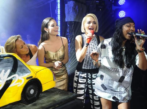 Donna Karan, Emmy Rossum, Rita Ora, Melanie Fiona