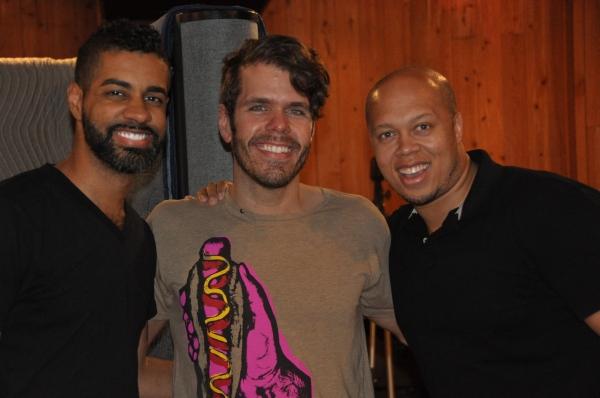 Jason Michael Webb, Perez Hilton and Lelund Durond Thompson