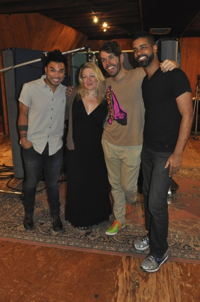 Andros Rodriguez (Engineer), Lynn Pinto (Producer), Perez Hilton and Jason Michael Webb