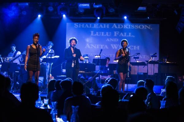 Shaleah Adkisson, Lulu Fall and Anita Welch