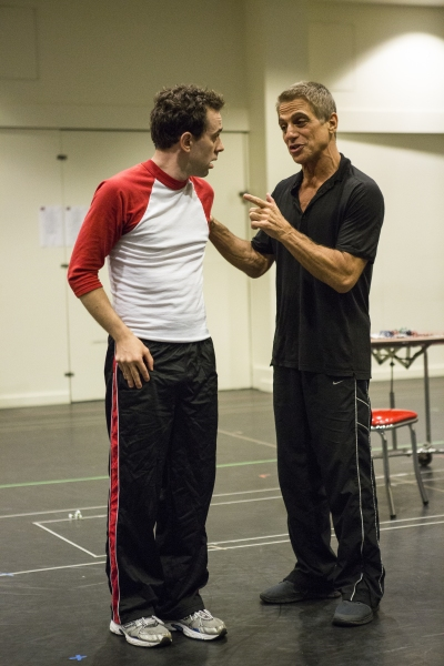 Photo Coverage: Rob McClure, Tony Danza & Paper Mill Playhouse's HONEYMOON IN VEGAS Cast Give Performance Preview!