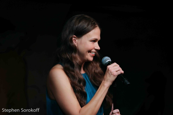 Photo Coverage: Sutton Foster Returns to Cafe Carlyle!