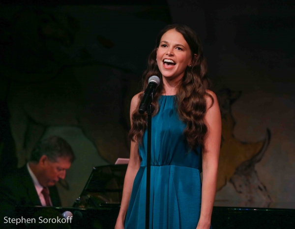 Sutton Foster & Music director Michael Rafter
