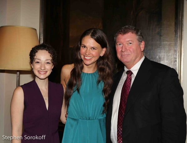 Megan McGinnis, Sutton Foster, Michael Rafter