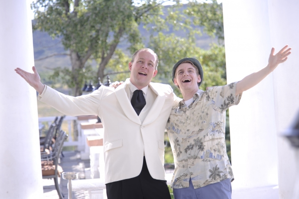 Photo Flash: Promo Shots for Town Hall Arts Center's DIRTY ROTTEN SCOUNDRELS, Begin. 9/13