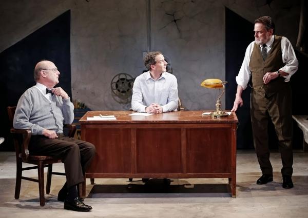 Gerry Bamman, Euan Morton and Richmond Hoxie