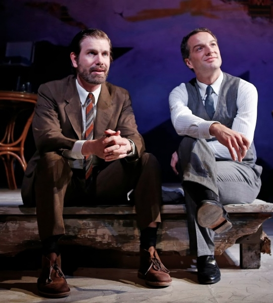 Photo Flash: First Look at Euan Morton & More in Keen Company's THE FILM SOCIETY