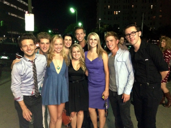 Topher Rhys, Jonah Platt, Kelley Jakle, Alissa-Nicole Koblentz, Jamie Lee Barnard, Na Photo