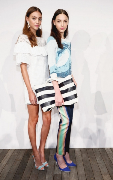 Photo Coverage: J.Crew S/S 2014 Collection Preview